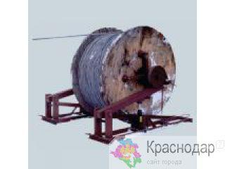 Раскатка провода с барабана