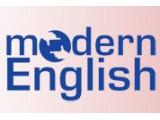 Логотип Modern English, школа иностранных языков
