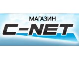 Логотип C-net, магазин спутникового оборудования
