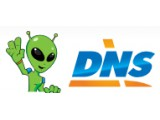 Логотип DNS, сеть компьютерных супермаркетов