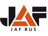 Логотип Jaf Rus, оптово-розничная компания