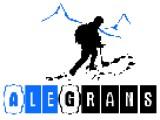 Логотип Alegrans - создание сайтов, фотомонтаж, видеомонтаж