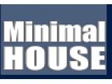 Логотип Minimal House - строительная компания