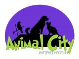Логотип Анимал Сити ветзоомаркет