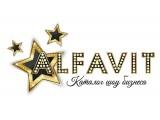 Логотип Alfavit Show или Алфавит Шоу-база артистов в Краснодаре