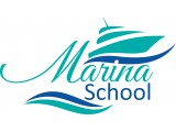 "Логотип Школа стюардесс ""Marina-school"""