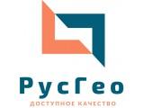Логотип РусГео, ООО